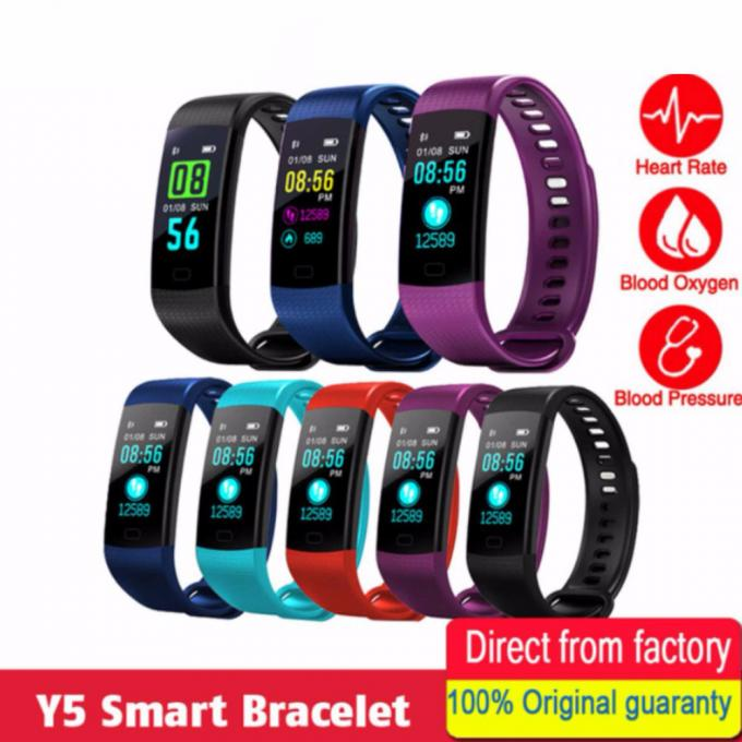 Slimy-Smart-Wristband-Y5-Sports-Heart-Rate-Smart-Band-Fitness-Tracker-Smart-Bracelet-Smart-Watch-for